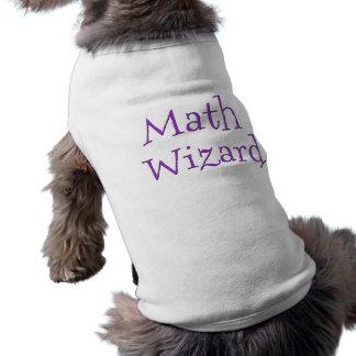 Math Wizard Sleeveless Dog Shirt