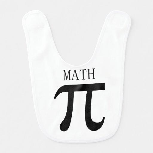Math Baby Bib
