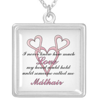 Máthair (I Never Knew) Mother's Day Necklace