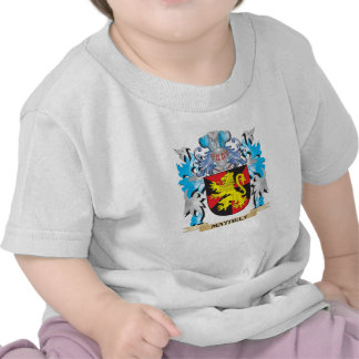 Mathely Coat of Arms - Family Crest Tees