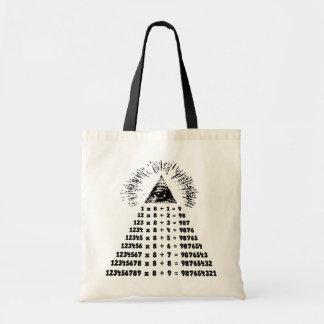 Mathemagic Canvas Bags