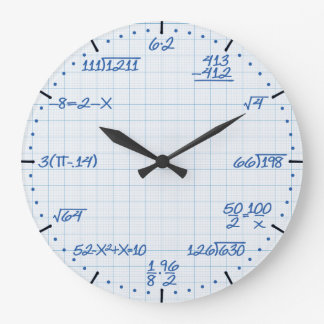Mathematical Equations Clock