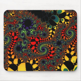 """Mathematical Fantasy"" ~ Abstract Art Print Mouse Pad"