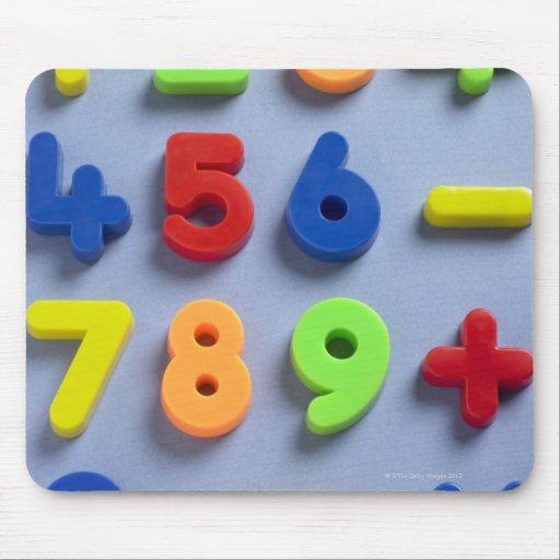 Mathematical magnets mousepad