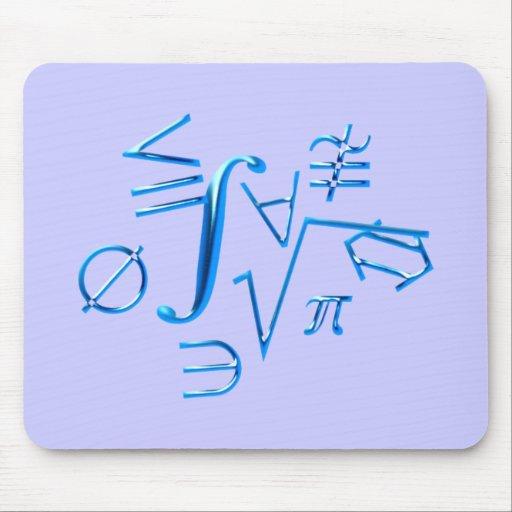 mathematical symbols mathematical symbol mouse pad