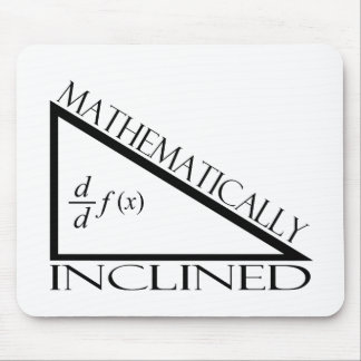 Mathematically Inclined Mouse Pad