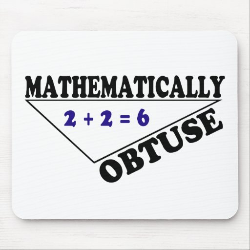 Mathematically Obtuse Mouse Mat