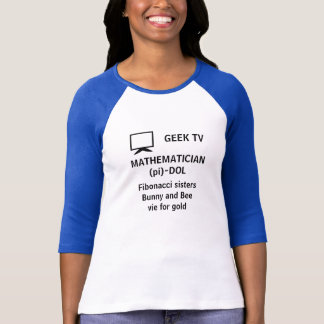 MATHEMATICIAN (pi)-DOL - a GEEK TV shirt