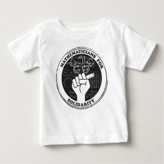 Mathematicians for Solidarity T-shirt - Baby