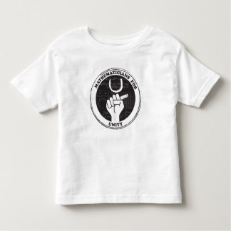 Mathematicians for Unity T-shirt - Toddler