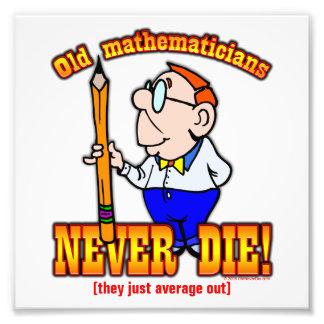 Mathematicians Photographic Print