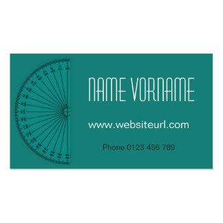 Mathematics Pack Of Standard Business Cards