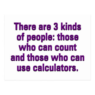 Mathematics can improve your ability to count postcard