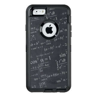 Mathematics Equations on Chalkboard Funny Geeky OtterBox iPhone 6/6s Case
