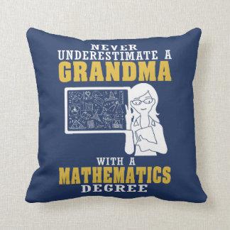 Mathematics Grandma Cushion