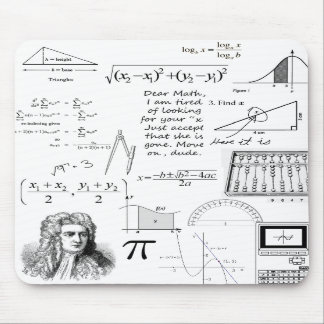 Mathematics Is My Life Mouse Pad