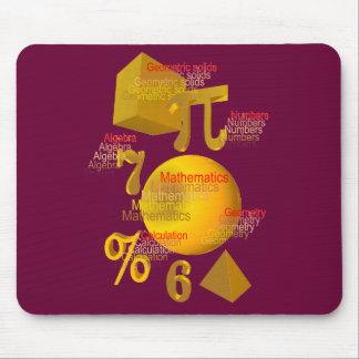 Mathematics mouse pad