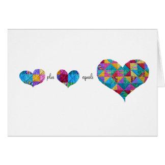 """Mathematics of the Heart"" Card"