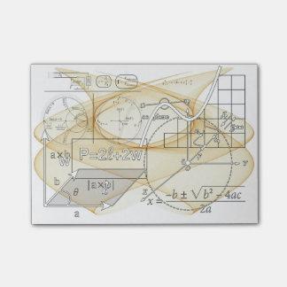 Mathematics Physics Science Formulas Post-It Notes