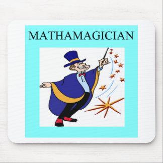 mathematics rules mouse mat