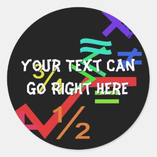 Mathematics Stickers