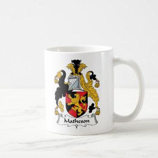 Matheson Family Crest Basic White Mug
