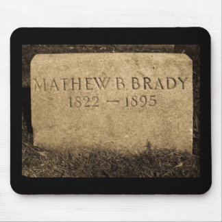 Mathew Brady  - Famed Civil War Photographer Mouse Pad