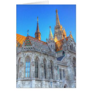 Mathias Church Budapest Card