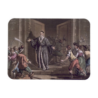 Mathieu Mole (1584-1656) harangued by the people, Rectangular Photo Magnet