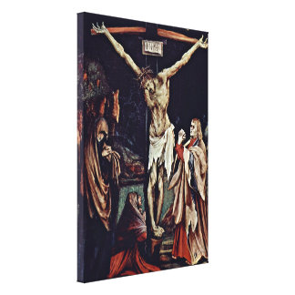 Mathis Gothart - Christ on the cross Overview Stretched Canvas Prints