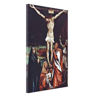 Mathis Grunewald Gothart - Christ on the cross Gallery Wrap Canvas