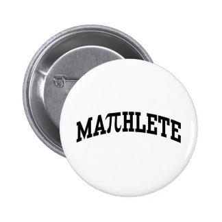 Mathlete 6 Cm Round Badge