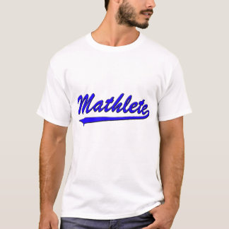 Mathlete Blue T-Shirt