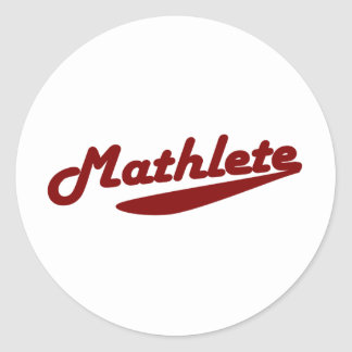 Mathlete Stickers