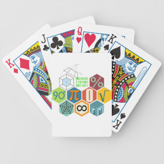 maths bicycle playing cards