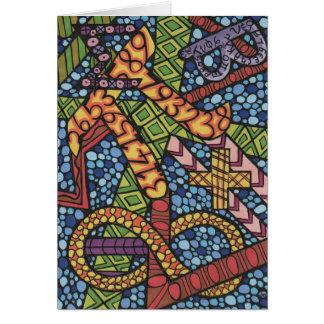 Maths Geek Doodle Card