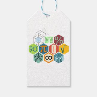 maths gift tags