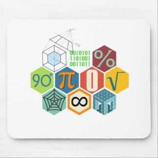 maths mouse pad