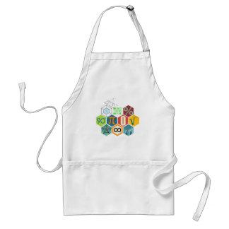 maths standard apron