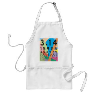 Maths: the colorful mathematical constant of Pi Apron