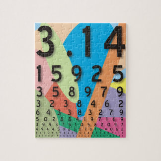 Maths: the colorful mathematical constant of Pi Puzzles