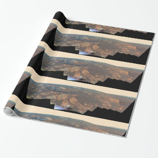 Matijevic Hill Panorama From Mars Rover Wrapping Paper