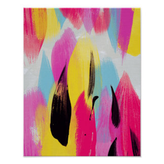 Matilda // Abstract Painting Poster