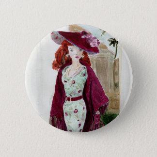 Matisse Doll Fashion - Rose 6 Cm Round Badge