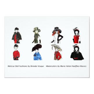 Matisse Doll Fashions - Card 5, 4.5 x 6.25