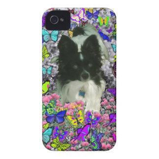 Matisse in Butterflies II - White & Black Papillon Blackberry Bold Cover