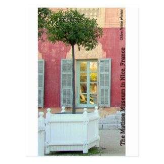 Matisse Museum in Nice, France Postcard