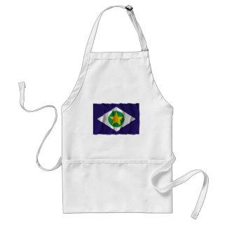 Mato Grosso, Brazil Waving Flag Standard Apron
