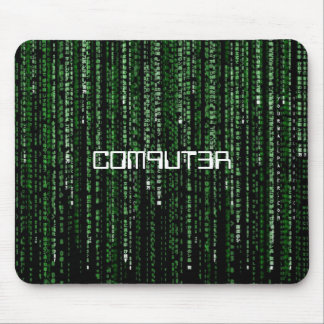 Matrix-Code, C0M9UT3R Mouse Pad