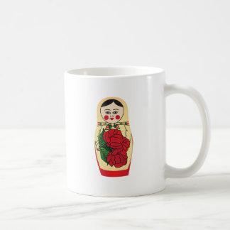 Matrjoška doll | 2 x image coffee mug